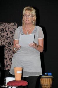 Sister Ann Richardson lecturing